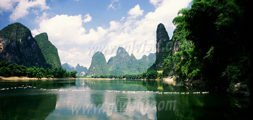 Li River, in summer